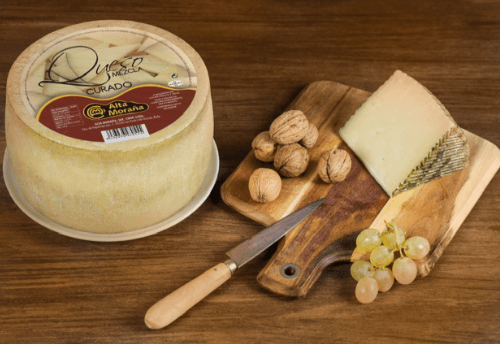 Mixed cured cheese