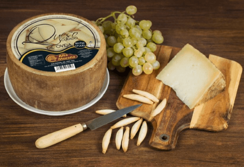 cured sheep cheese